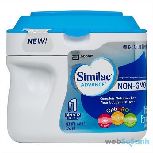Sữa công thức Similac Advance Non GMO rất an toàn cho bé