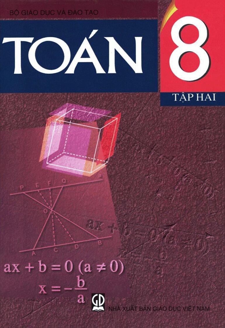 Lưu tâm tới cách thức truyền tải của sách giáo khoa toán 8 tập 2