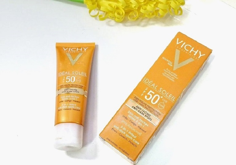 Vichy Ideal Soleil 3 in 1 Tinted Anti Dark Spots Care SPF 50+