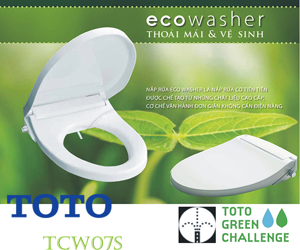 bồn cầu TOTO Ecowash