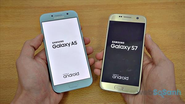 so sánh galaxy a5 và galaxy s7