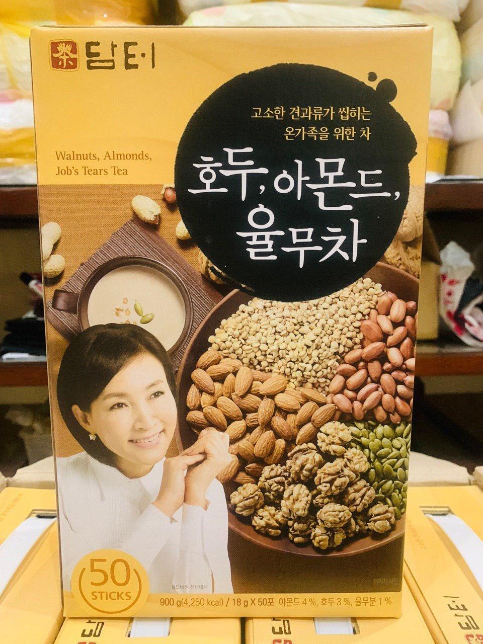 Ngũ cốc Damtuh được chế biến thành dạng gói rất tiện lợi để pha uống mỗi ngày