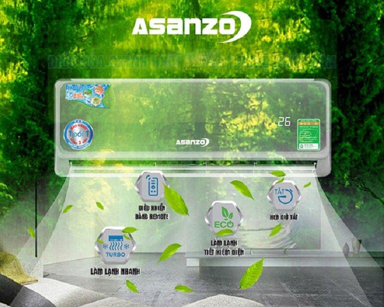điều hòa Asanzo 3 triệu