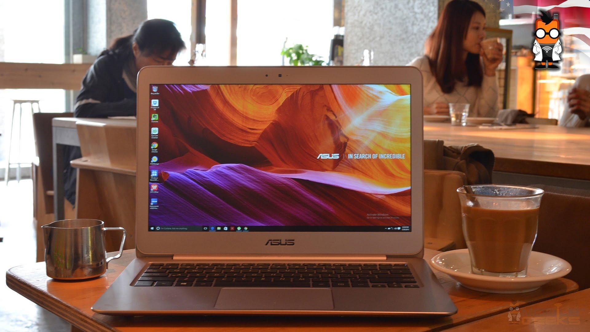 Asus Zenbook 13.3 có thời lượng pin khủng, bạn có thể làm việc bên ngoài cả ngày mà vẫn không lo sập nguồn