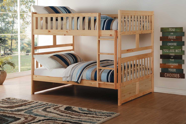 Giường tầng trẻ em 2 tầng