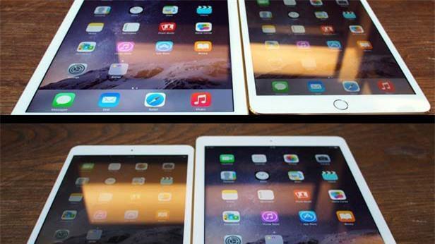 iPad Air 2 reflectivity