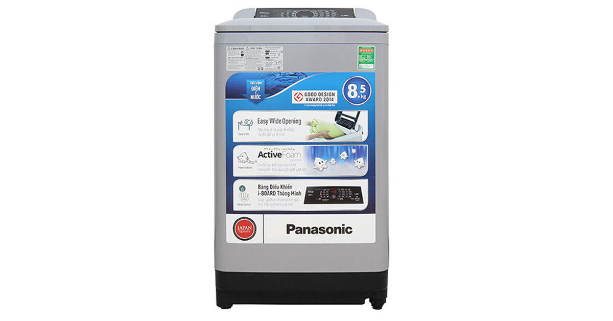 Máy giặt Panasonic NA-F85A4HRV - cửa trên, 8.5kg