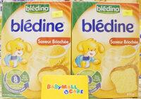 Bột lắc sữa Bledina vị bánh mì 8m+ - 500g