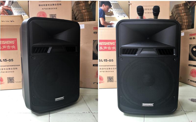 Mẫu Loa vali kéo di động Bluetooth Karaoke TEMEISHENG SL15-05