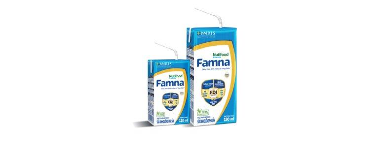 Giá sữa Famna số 4 các loại bao nhiêu tiền?