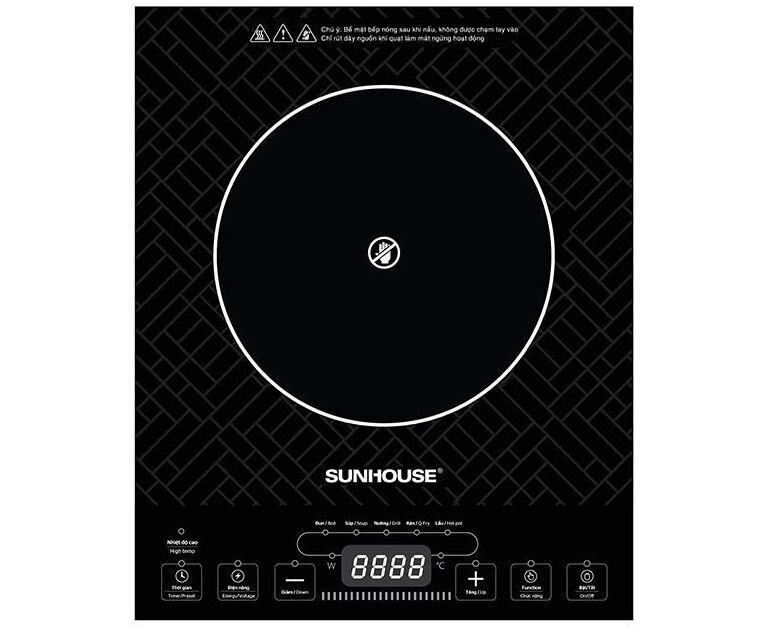 Các thông số của bếp hồng ngoại Sunhouse SHD6011