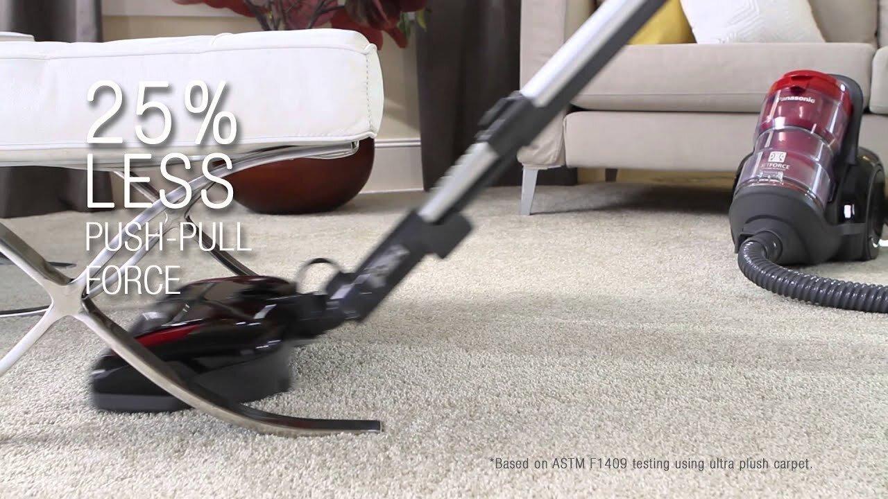 Lựa chọn một chiếc máy hút bụi Panasonic hiệu quả, an toàn để tiết kiệm thời gian dọn dẹp cho gia đình