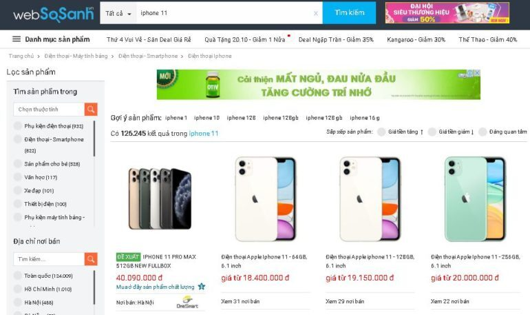 Giá iPhone XR rẻ hơn iPhone 11