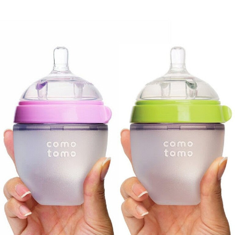 Bình sữa cho trẻ sơ sinh Comotomo
