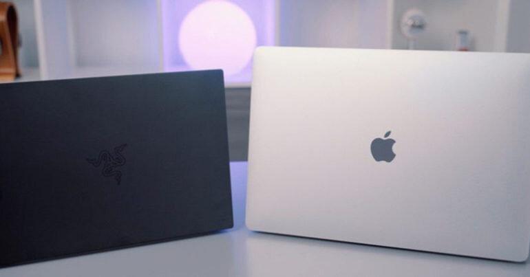 So sánh Apple MacBook và Razer Blade Stealth 2019 - Hay chơi game nên mua laptop nào thích hơn ?