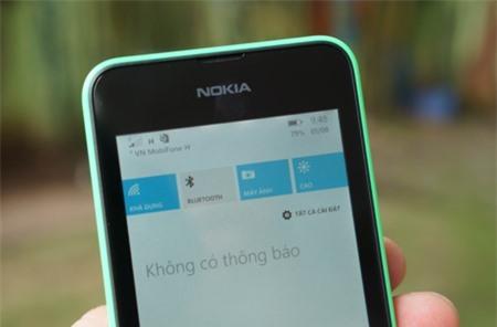 Thanh thông báo mới trên Windows Phone 8.1