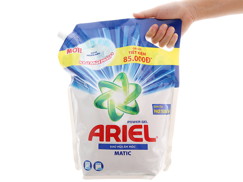 Bột giặt Ariel có tốt không
