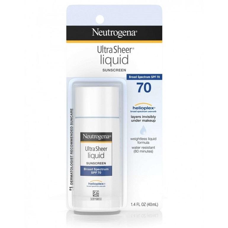 Kem chống nắng Ultra Sheer Liquid Daily Sunblock SPF 70