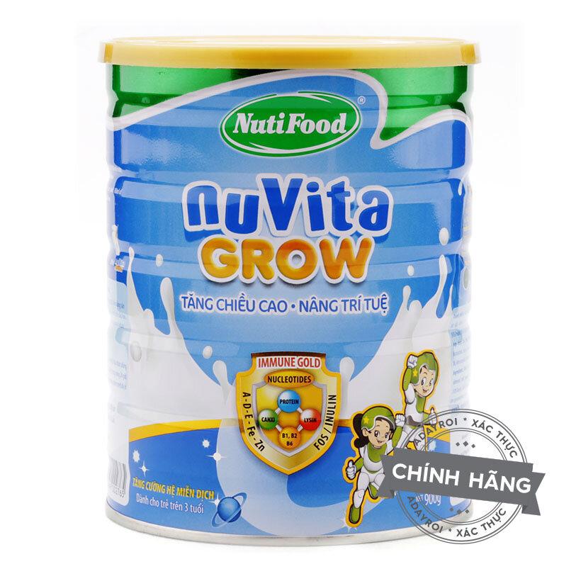 Sữa bột NutiFood NuVita Grow từ 3 tuổi