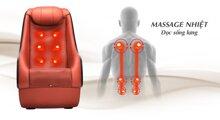 10 ghế massage tốt nhất sưởi ấm bấm huyệt xua tan mệt mỏi giá từ 20tr