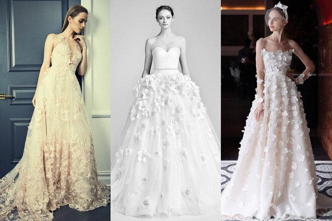 10 kiểu dáng váy cưới đang được thế giới ưa chuộng nhất hiện nay