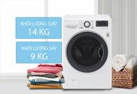 10 máy giặt LG tiết kiệm điện nước, đa năng giá từ 7tr