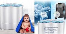 10 máy giặt mini nhỏ nhắn xinh xắn – lựa chọn hoàn hảo cho sinh viên, người độc thân, người ở trọ