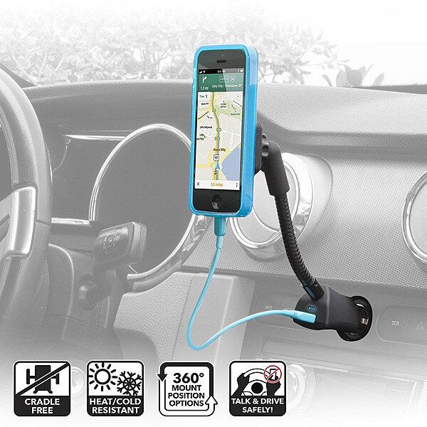 10 phụ kiện giữ smartphone độc đáo trên xe hơi đáng tham khảo