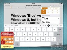 10 ứng dụng văn phòng không thể thiếu cho iPad