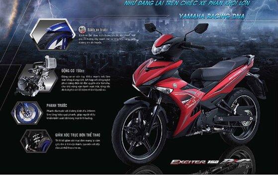 10 xe Yamaha nhập khẩu 2019 tốt nhất dáng thể thao giá từ 20tr