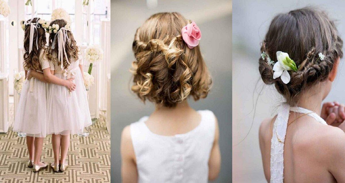11 kiểu tóc siêu đáng yêu cho những phù dâu nhí trong đám cưới của bạn