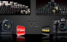 11 tiêu chí so sánh máy ảnh Canon và Nikon nên mua loại nào tốt hơn?
