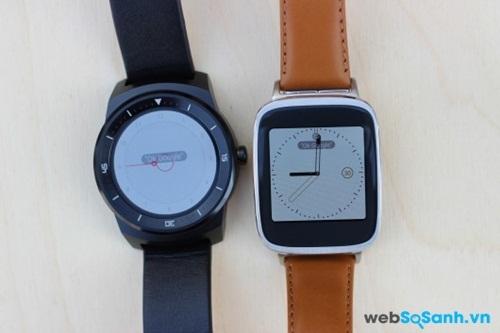LG G Watch R và Asus ZenWatch. Bạn chọn đồng hồ nào? Nguồn Internet