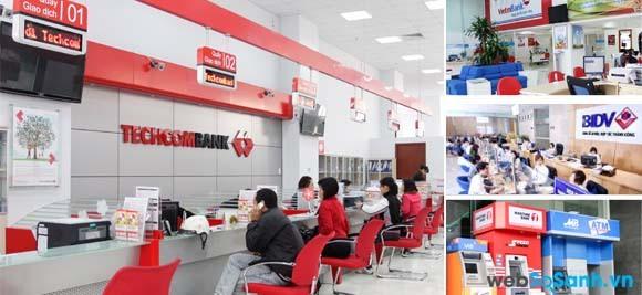 Bạn có thể làm thẻ ATM tại các phòng giao dịch, chi nhánh của các ngân hàng