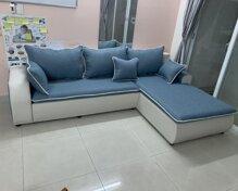 13 sofa văng phòng khách dài góc đẹp chất liệu da cao cấp giá từ 5tr