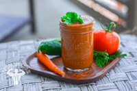 13 tác dụng của nước ép cà rốt cà chua đẹp da, giảm huyết áp