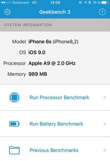 iPhone 6s vẫn sẽ sử dụng bộ nhớ RAM 1 GB ?