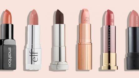 15 thỏi son môi màu nude đẹp dành cho quý cô sành điệu mùa Thu Đông 2017