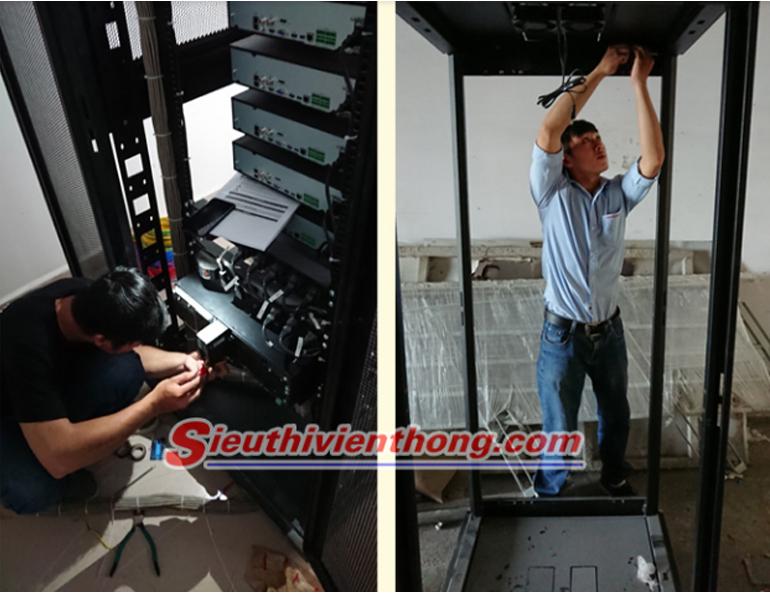 Thi công Hệ thống camera quan sát và thiết bị mạng cho Trường Đại học Hutech