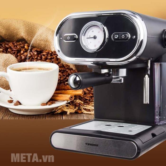 Đánh giá máy pha cà phê espresso Tiross TS621 dựa trên những thông tin khách quan