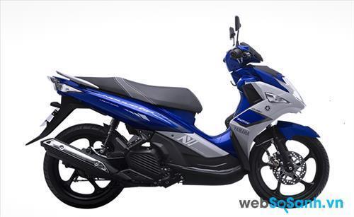 Yamaha Nouvo phong cách mạnh mẽ phù hợp với phái mạnh