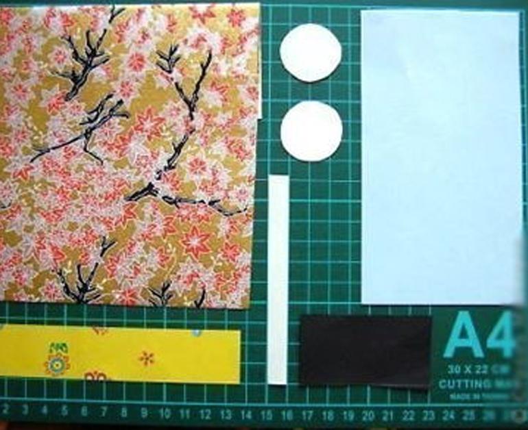 Búp bê giấy Nhật Bản