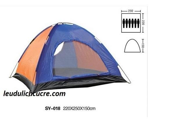 Lều du lịch 6-7 người giá rẻ 650,000 đồng
