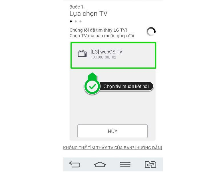 sử dụng ứng dụng lg tv plus 3
