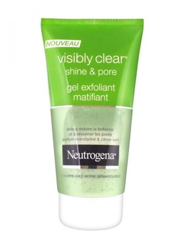 Sữa rửa mặt trị mụn Neutrogena Visibly Clear Shine & Pore Gel Exfoliant Matifiant - 150ml