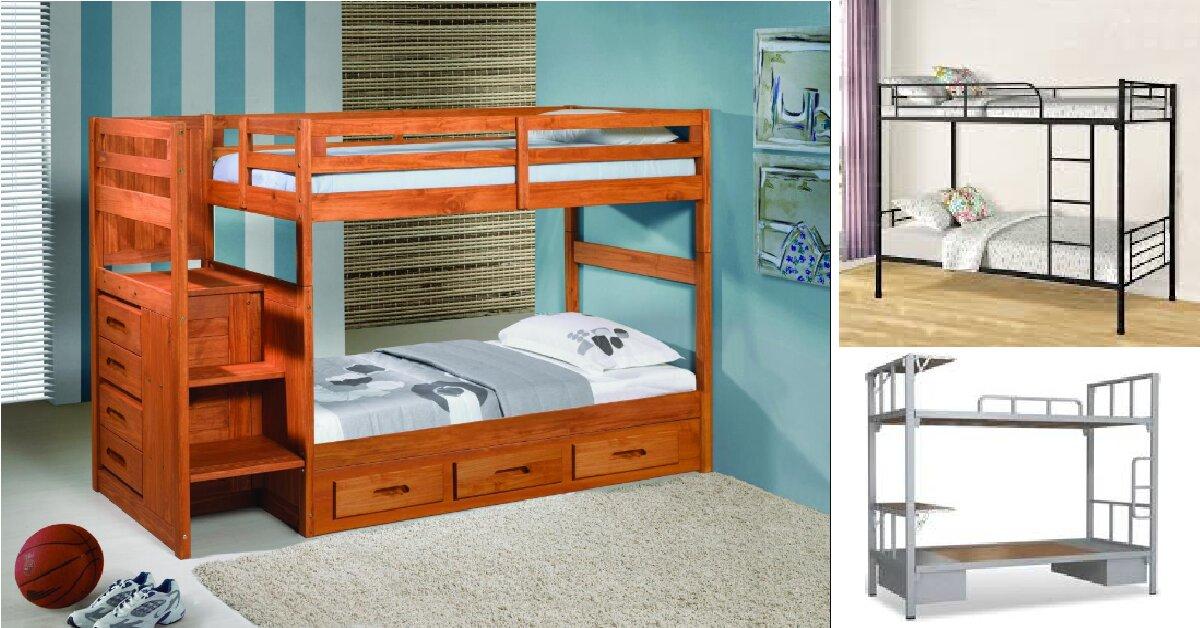 Giường 2 tầng trẻ em có mấy loại? Giá bao nhiêu?