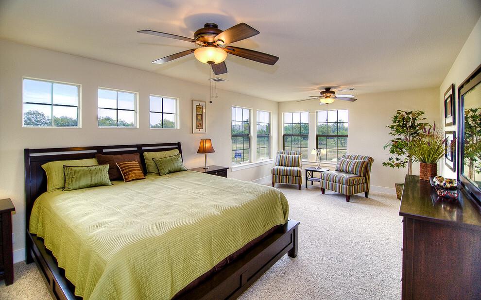 quạt trần trang trí phòng ngủ đẹp