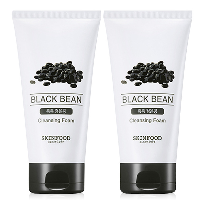 Sữa rửa mặt đậu đen Skinfood Beauty In A Food Black Bean Cleansing Foam