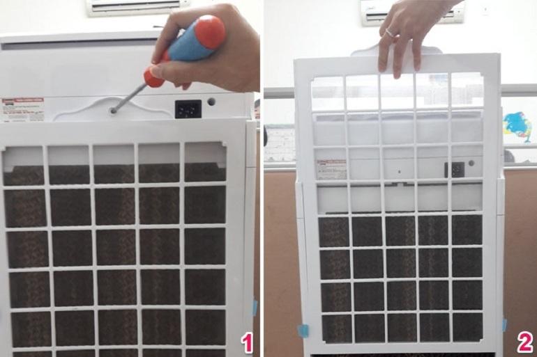 cách vệ sinh quạt điều hòa sunhouse