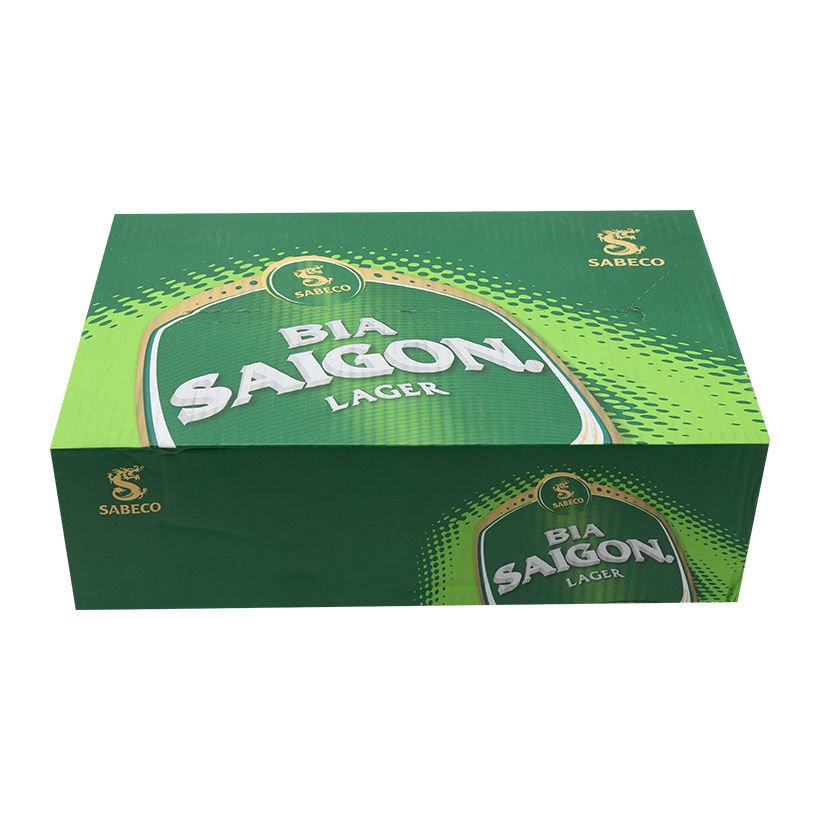 Bia Sài Gòn Lager thùng 24 lon x 330ml